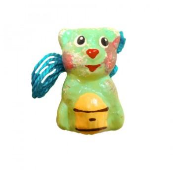 Аромакулон Медвежонок зеленый/голубой