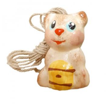 Аромакулон Медвежонок бежевый/коричневый