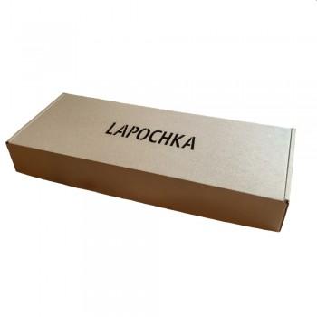 Подарочная коробка с вырубкой LAPOCHKA