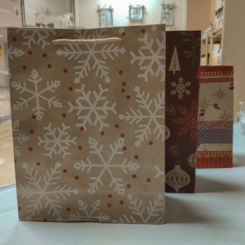 Пакет новогодний большой