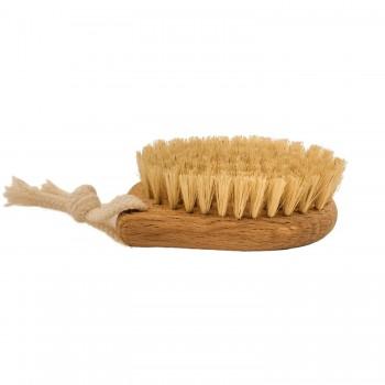 Щётка для сухого массажа лица из натуральной щетины